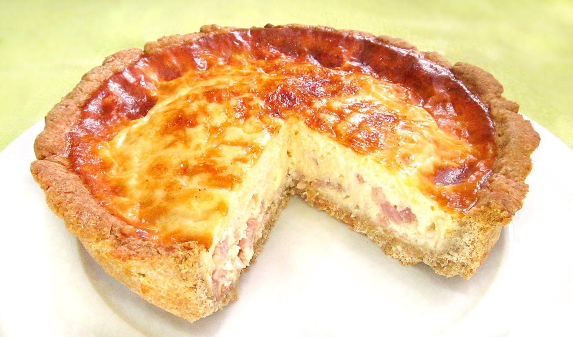 Quiche Lorraine  Cook RECIPES  Pastel de pollo Quiche y Quiche lorraine