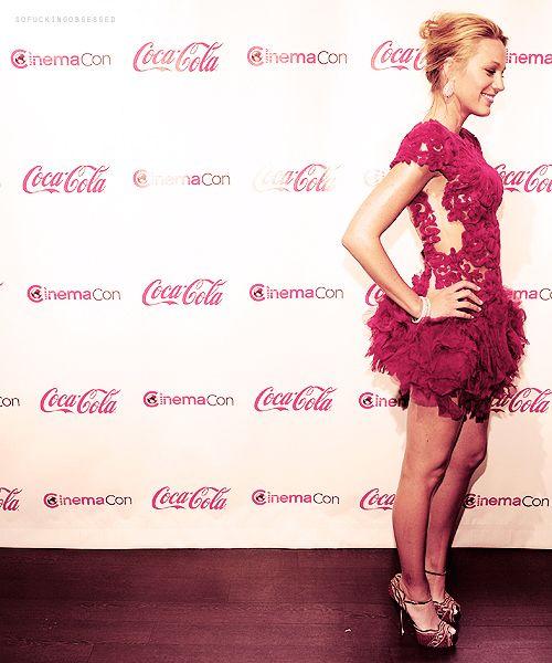 Blake Lively <3 this dress...I also <3 Coca Cola