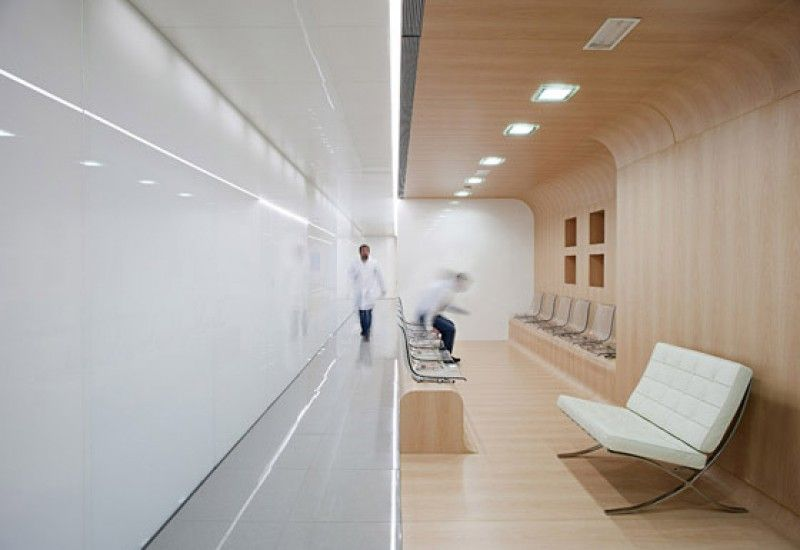 Minimalist Dental Office In Spain Visual Appeal Meets Pristine Conditions