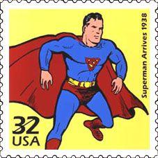 Superman stamp - USA