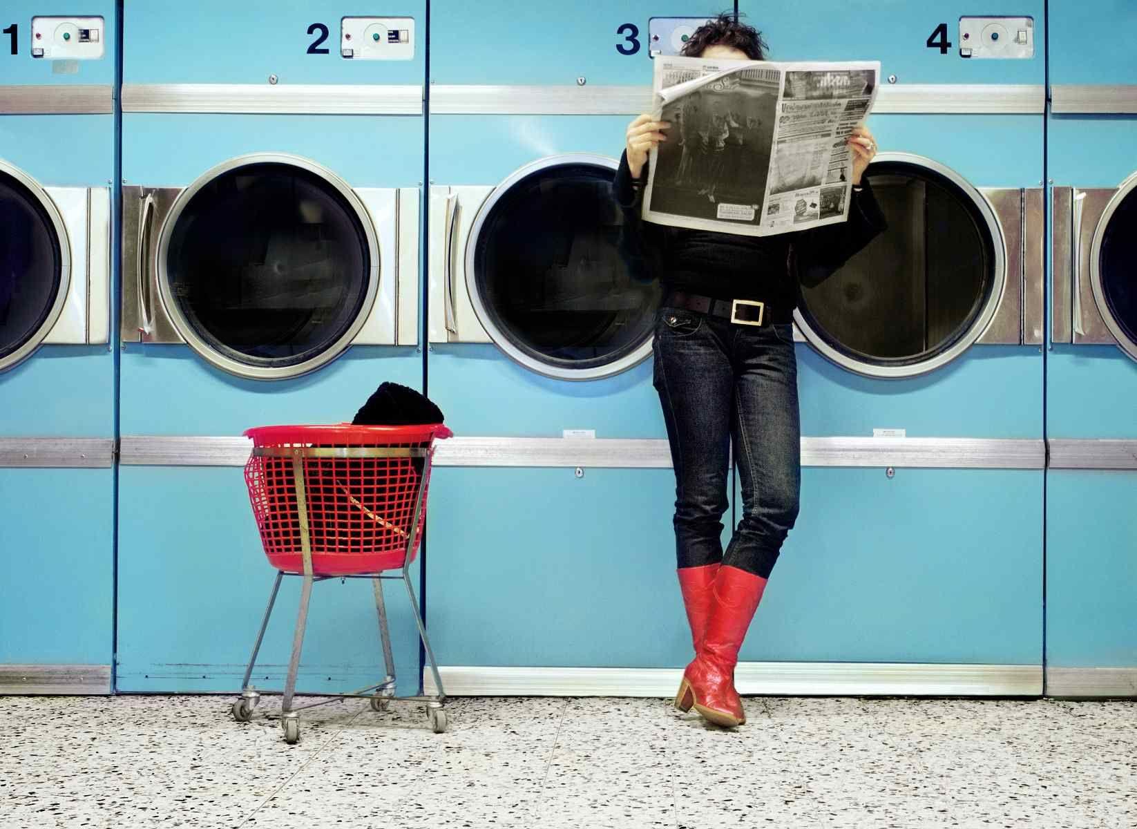 6 Tips For Easier Laundromat Trips Laundry Shop Laundromat Clothes Washing Machine