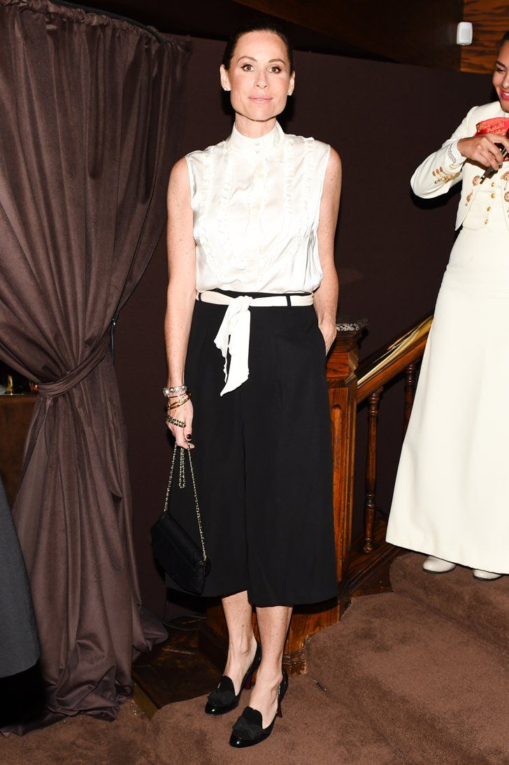 Pin for Later: This Chanel-Clad Dinner Is Hands Down the Chicest Oscars Preparty Minnie Driver