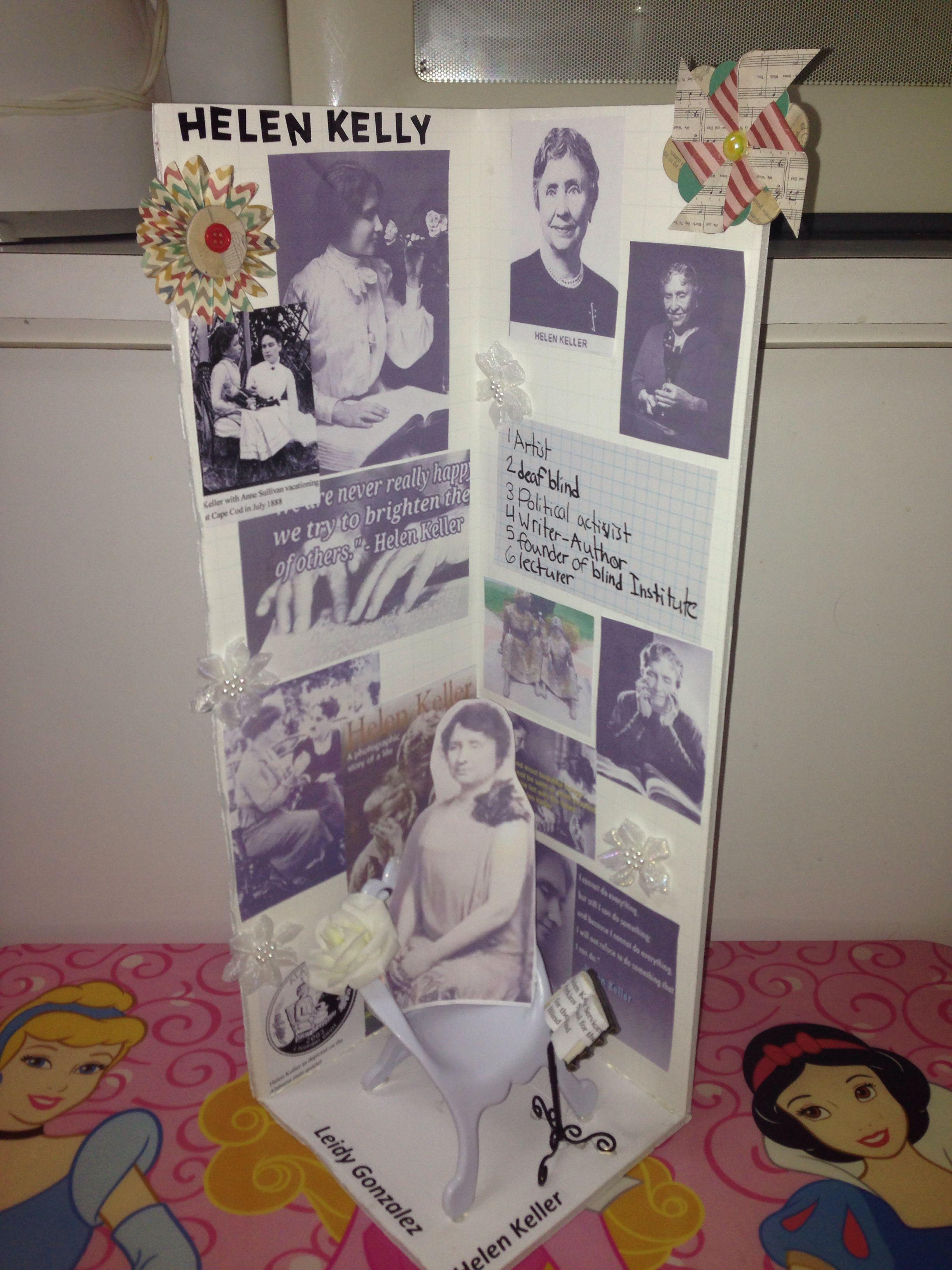 Helen Keller Project Leidy 3rd Grade