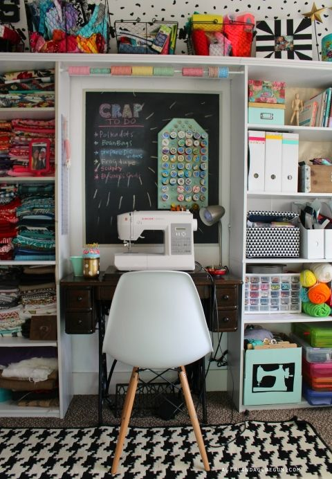 Photo of craft room tour! – A girl and a glue gun