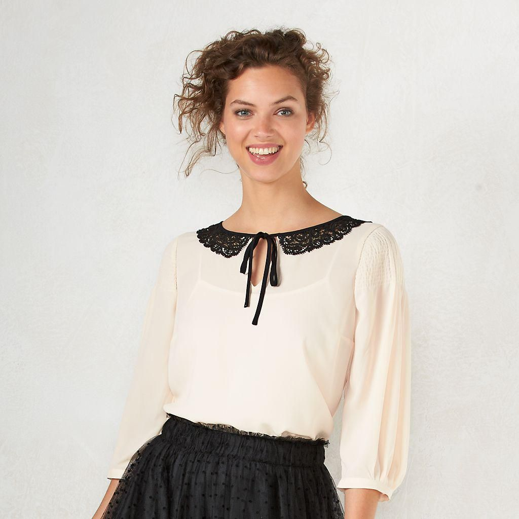 Disney's Snow White A Collection by LC Lauren Conrad Lace Collar Top - Women's from Kohl's.