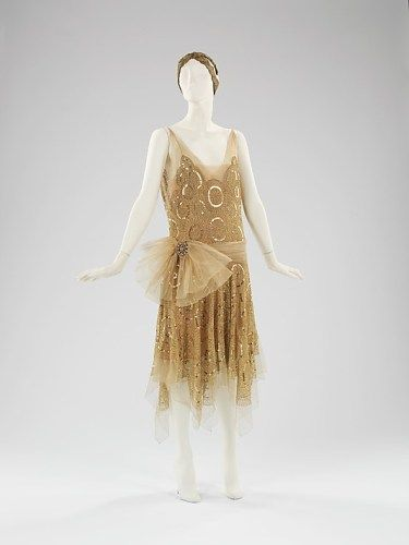 Evening ensemble, House of Lanvin (Paris), 1923, Metropolitan Museum of Art