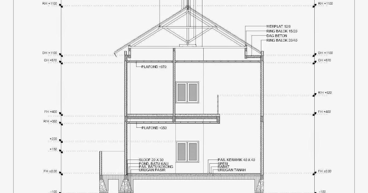 Pada Struktur Rumah 2 Lantai Biasanya Terdiri Dari Pondasi Sloof Tembok Plat Lantai Dak Lantai 2 Sederhana Di Desain Rumah 2 Lantai Denah Lantai Rumah Lantai