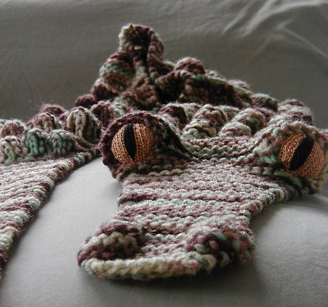 The One Only Morehouse Alligator Scarf Pattern By Morehouse
