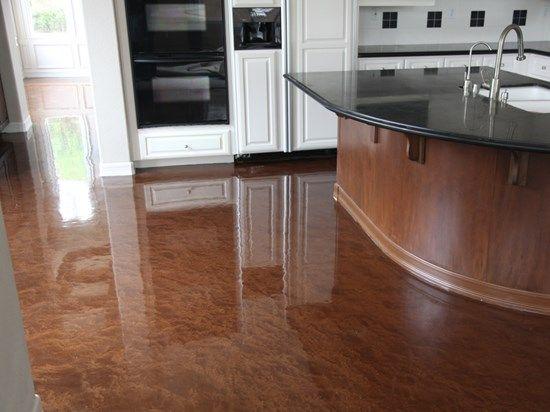 metallic epoxy coating concrete floors concrete solutions san diego ca - Kitchen Floor Solutions