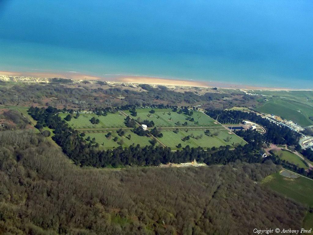 Photo aérienne de Colleville-sur-Mer - Calvados (14)