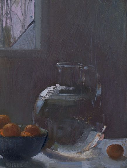 A Painting A Day Vase Of Water With Mandarins 1252014 By Duane