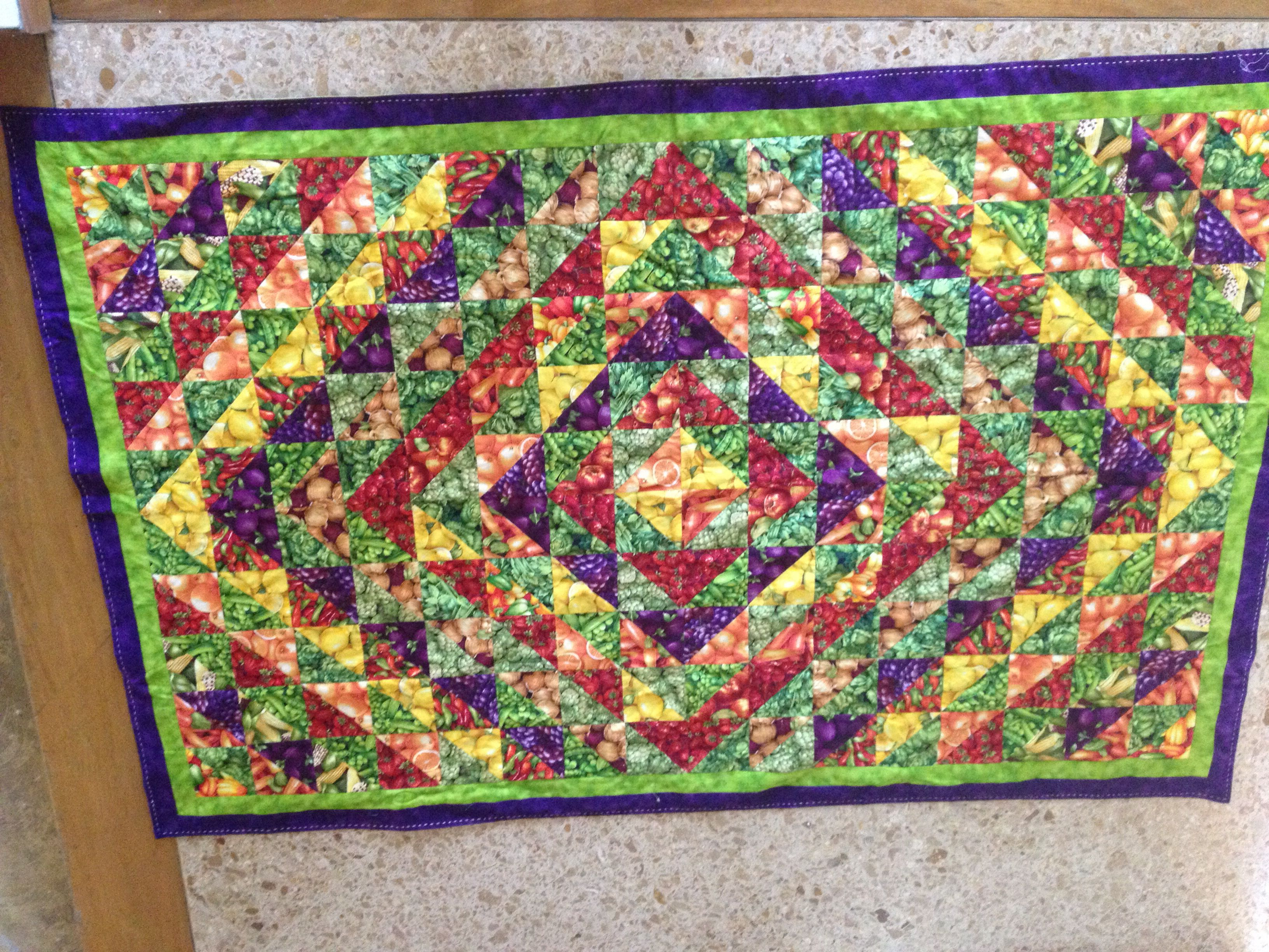 Patchwork table cloth
