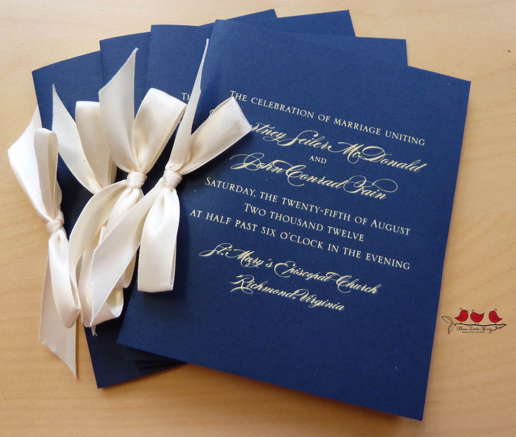 Wedding Booklet Libretto Matrimonio