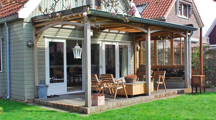Oak Porch/ Eikenhouten Veranda (Van Blok Meubel)