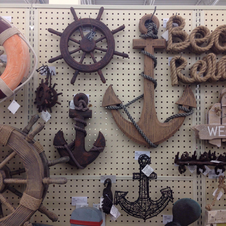 Nautical Themed Decor From Hobby Lobby Nautical Theme Nautical