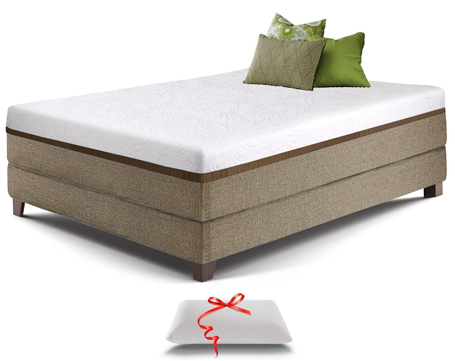 foam inch aloe knight top pin memory by christopher king gel size mattress pillow