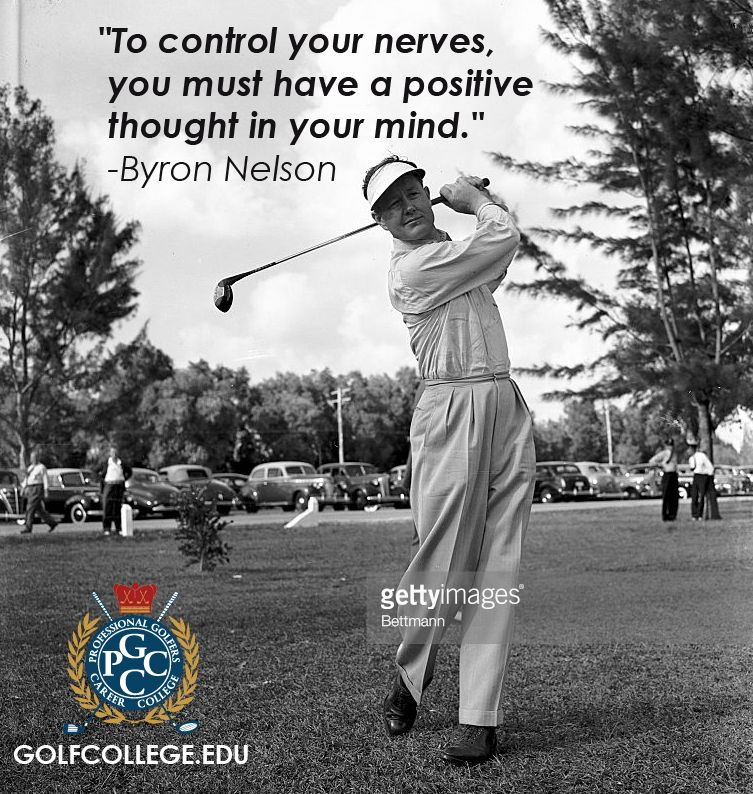 """Tomorrow marks """"Lord"""" Byron Nelson's birthday, who was"""