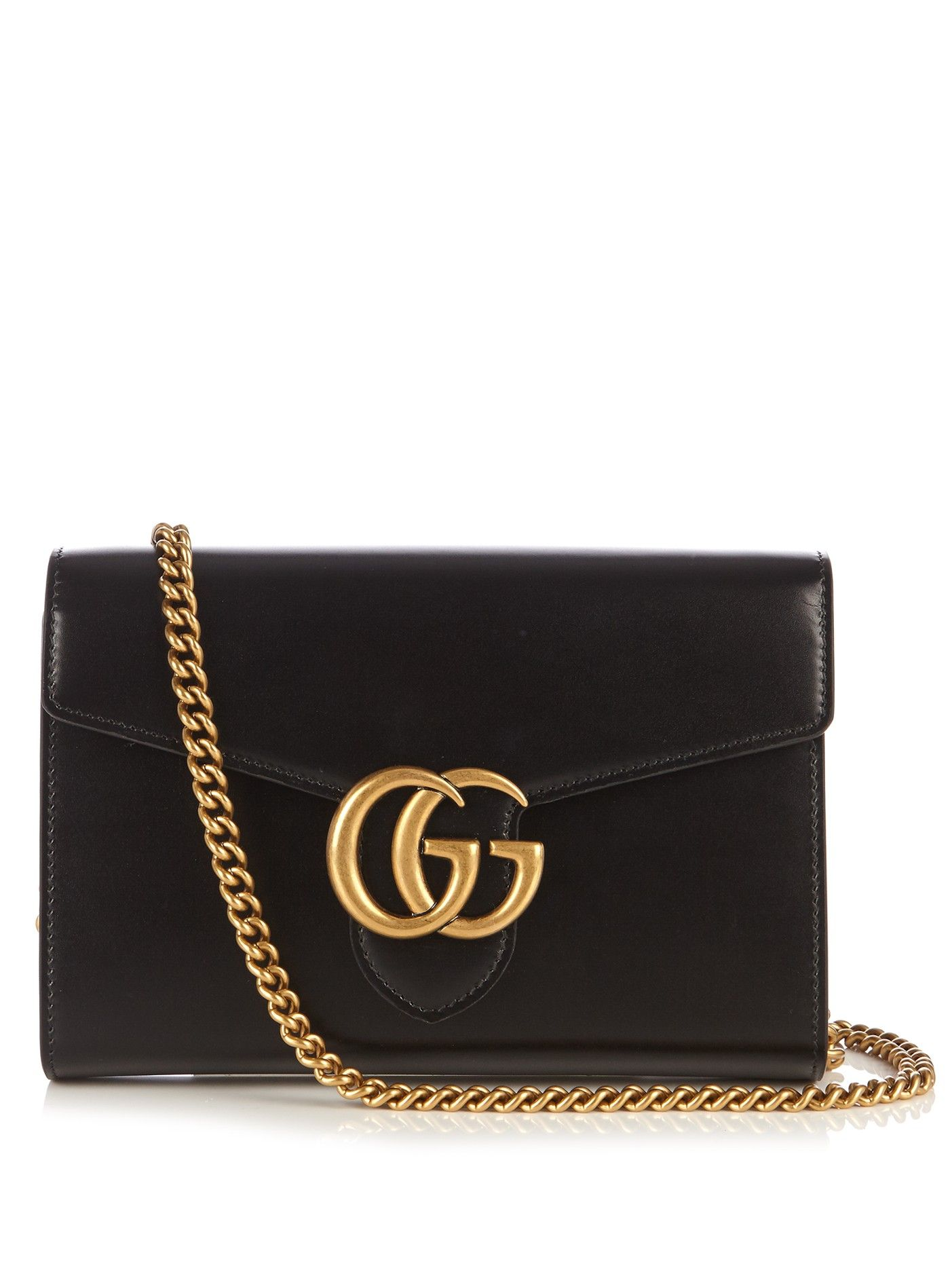 e0cf2b69b29fc8 GG Marmont leather cross-body bag | Gucci | MATCHESFASHION.COM UK ...