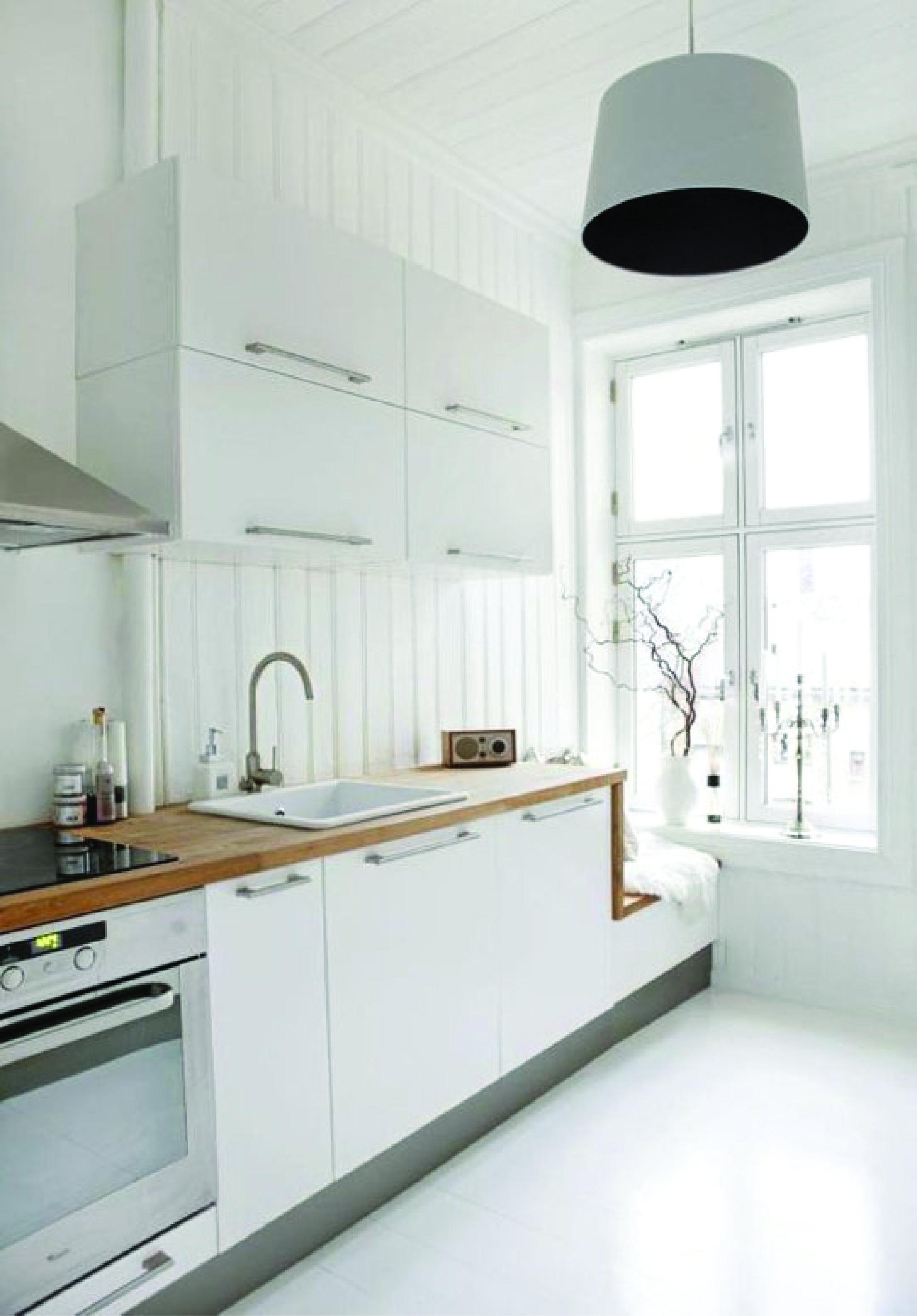 Modern kitchen window design  wood block counter  kitchen  cocina  pinterest  woods kitchens