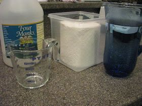 Lil Daisies: Fabulous Tip -- Homemade Household Wipes