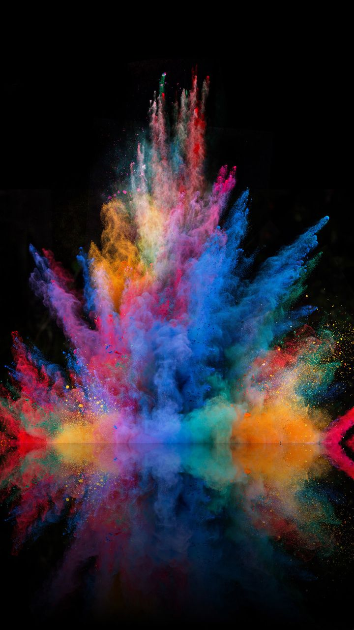 Color Blast Most Popular Wallpaper for Android Abstract