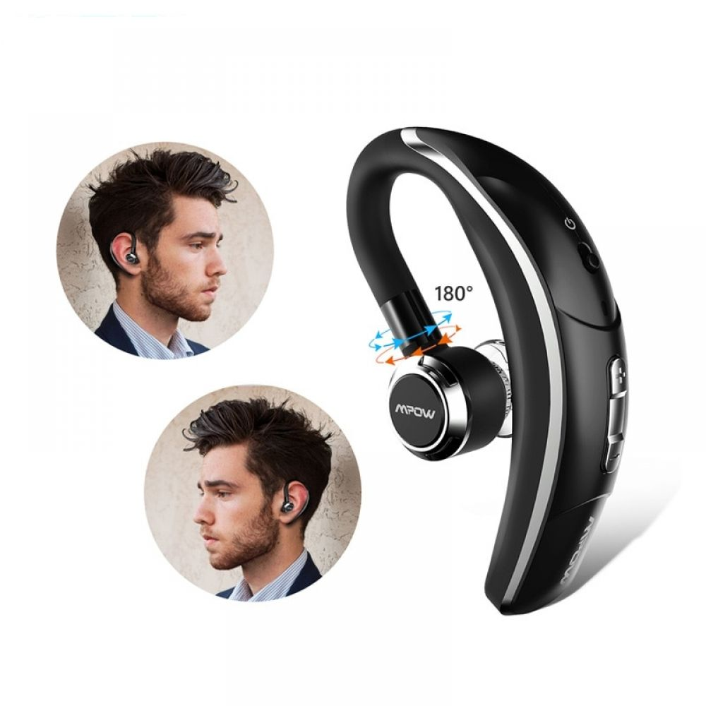 Wireless Single Car Headphone Portable Handsfree Bluetooth 4 1 180 Rotation Earbuds Earphones With Mic For Iphone X 8 Allied Mall Earbud Headphones Mpow Bluetooth Earpiece