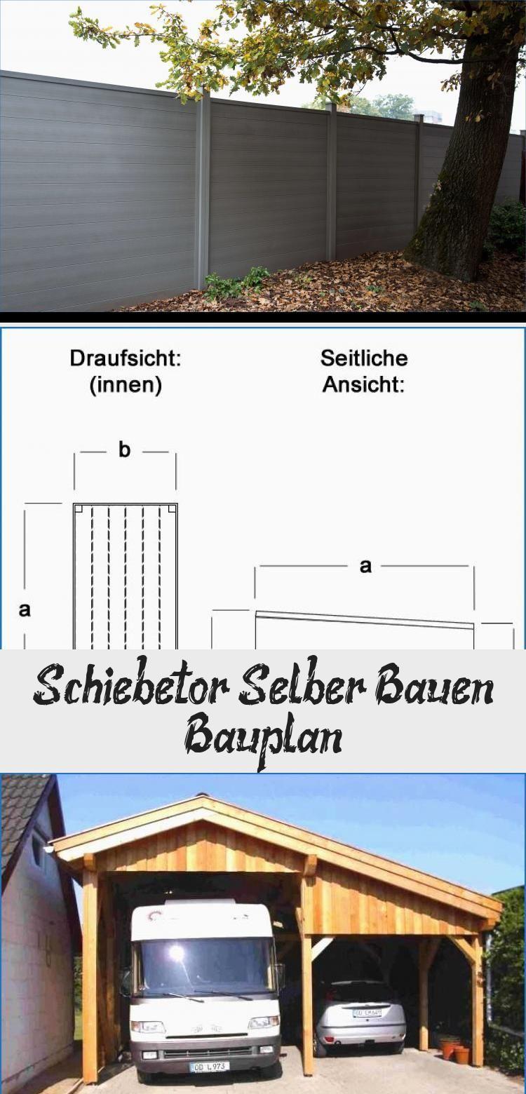 Schiebetor Selber Bauen Bauplan Outdoor Structures Pergola