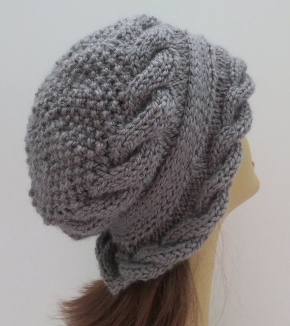 PDF 155 Knitting Hat Pattern, Arabella Hat and Headband Cables with ...