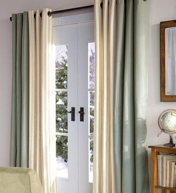 Door Curtains Patio Door Curtains Grommet Like The Idea