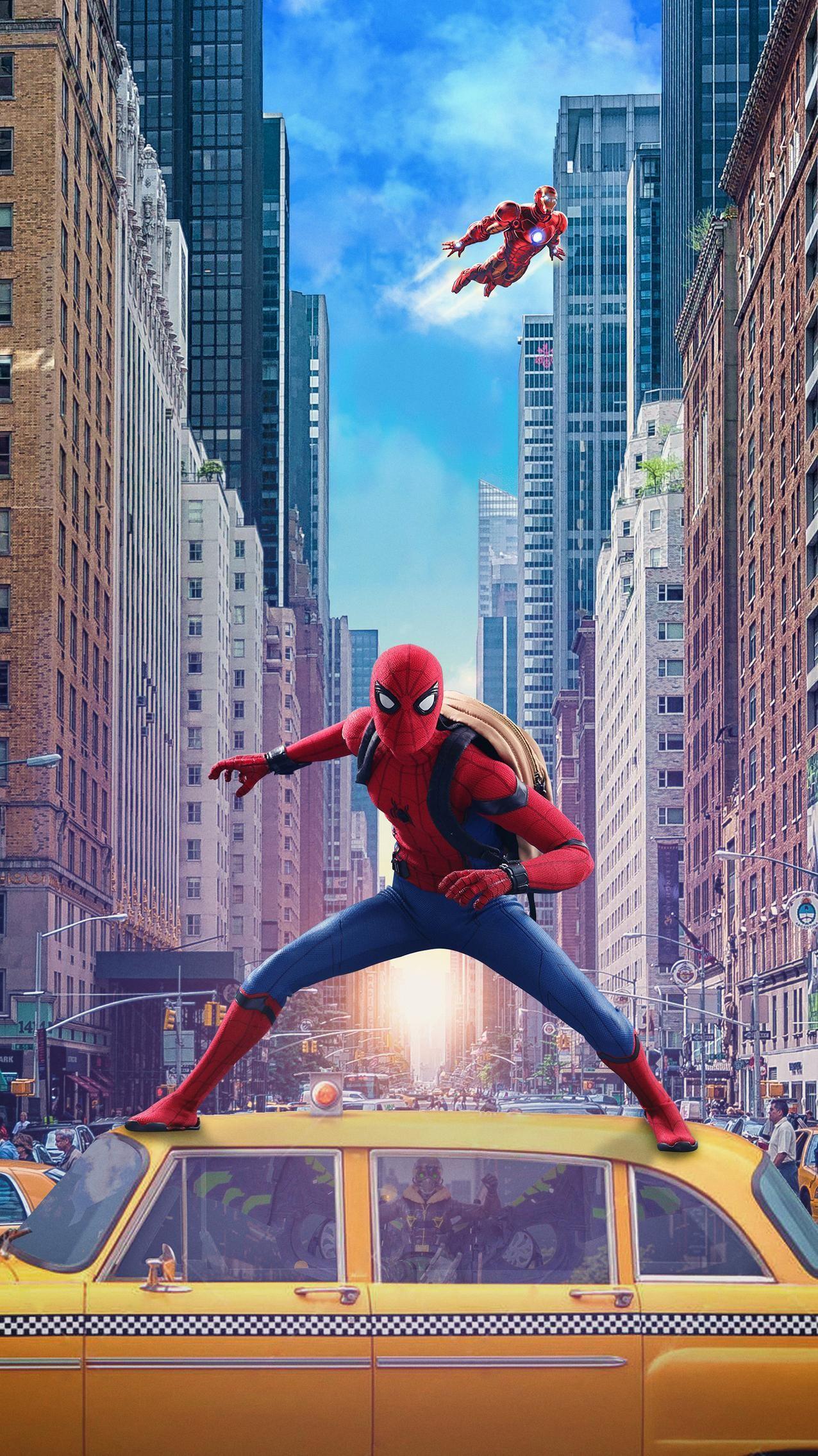 Spider Man Homecoming 2017 Phone Wallpaper Marvel Movie