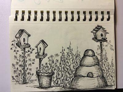 Brambleberry Thyme- a little sketch