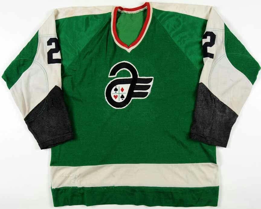 b44b63e6a Vintage Quebec Aces Hockey Jersey