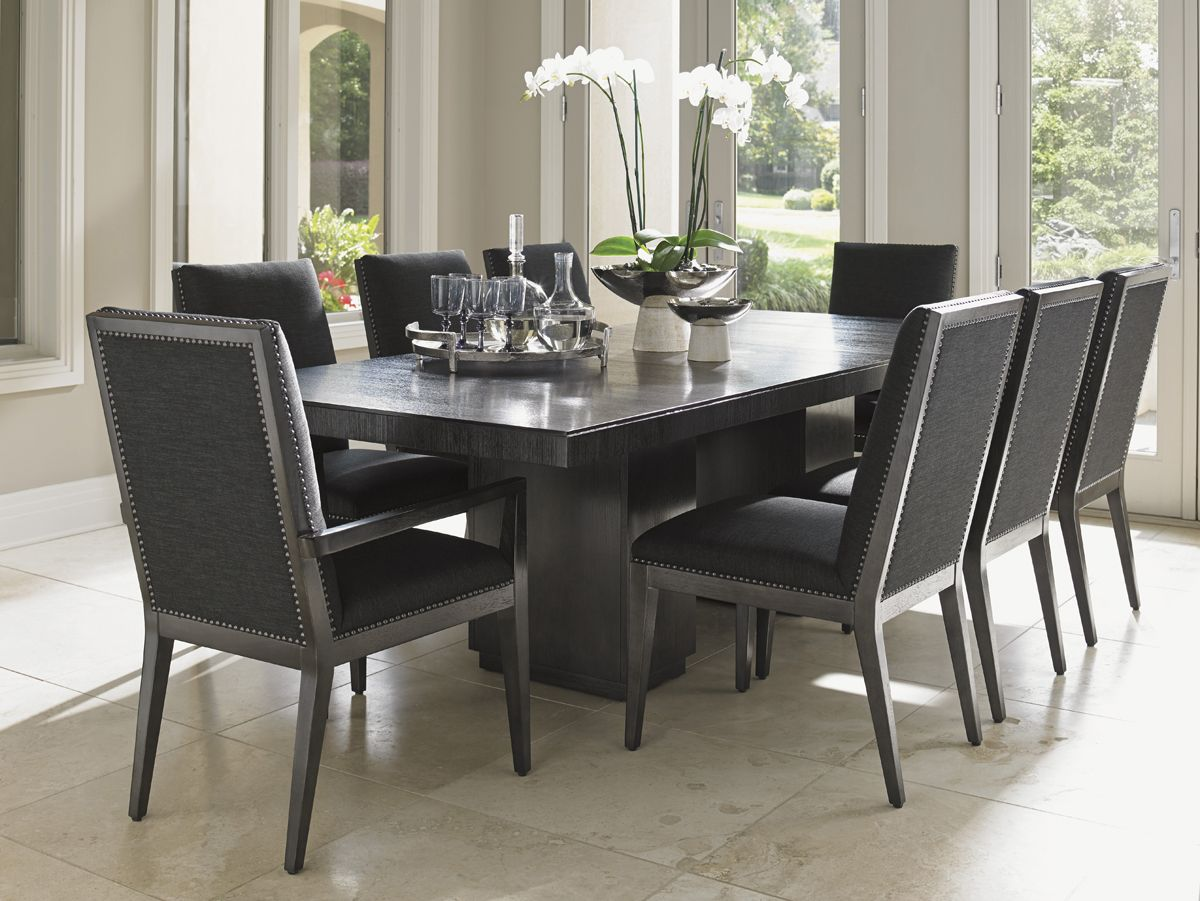 Carrera Modena Double Pedestal Dining Table