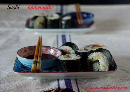 La Cucina di Azzurra: IL MIO SUSHI….HOMEMADE!!!!
