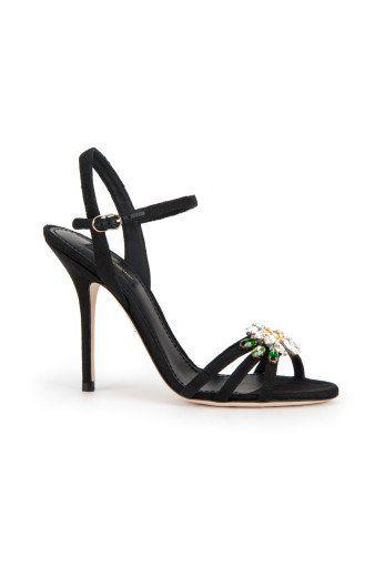 DOLCE & GABBANA Dolce&Gabbana Sandalo Con Fiore In Pietre