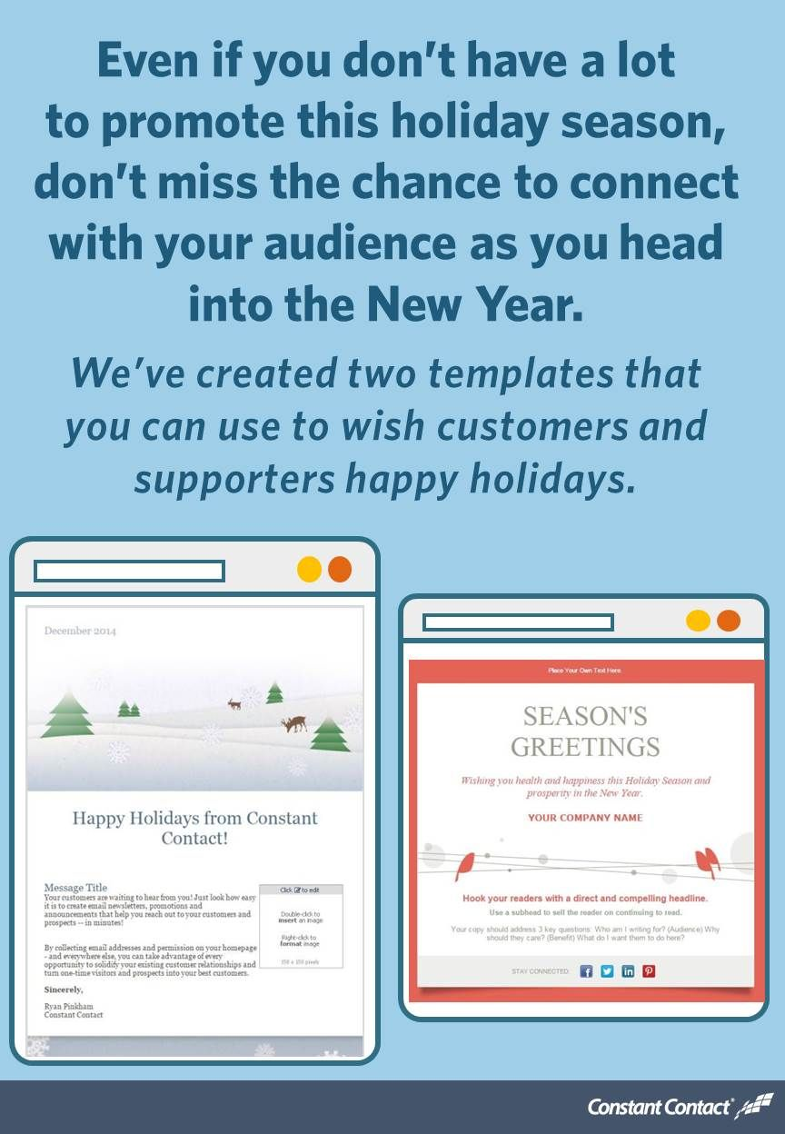 10 Holiday Email Templates For Small Businesses Nonprofits