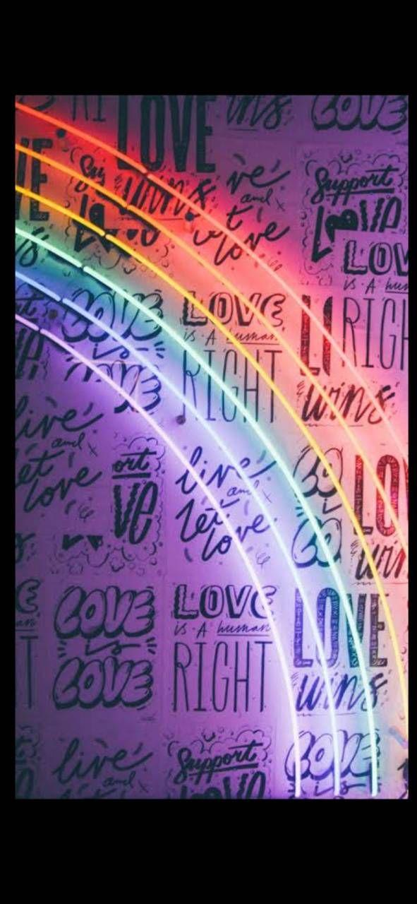 Rainbow wallpaper by Ana1774 - da09 - Free on ZEDGE™