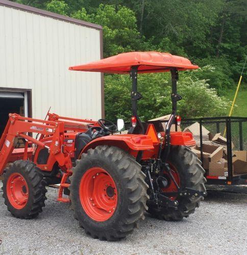 Universal Tractor Canopy Kubota Kioti Orange 60 W X 65 L Polyethylene Tractor Canopy Tractors Tractor Accessories