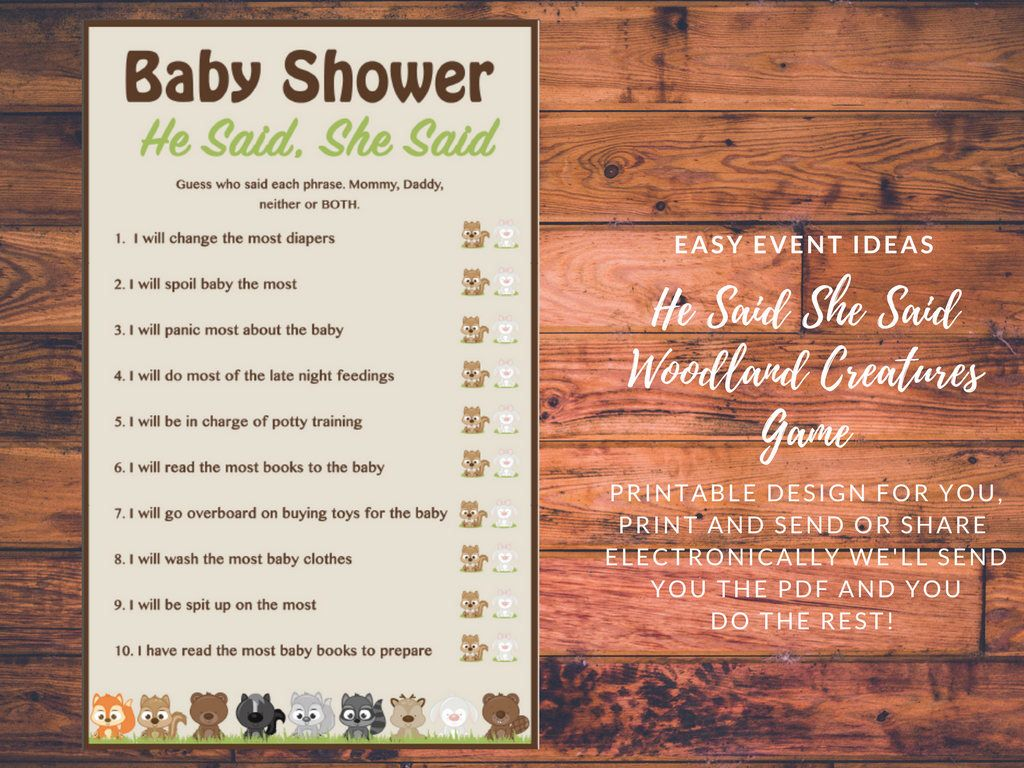 Whimsical Woodland Animals Baby Shower Welcome Poster ...  Woodland Creature Baby Shower Quotes