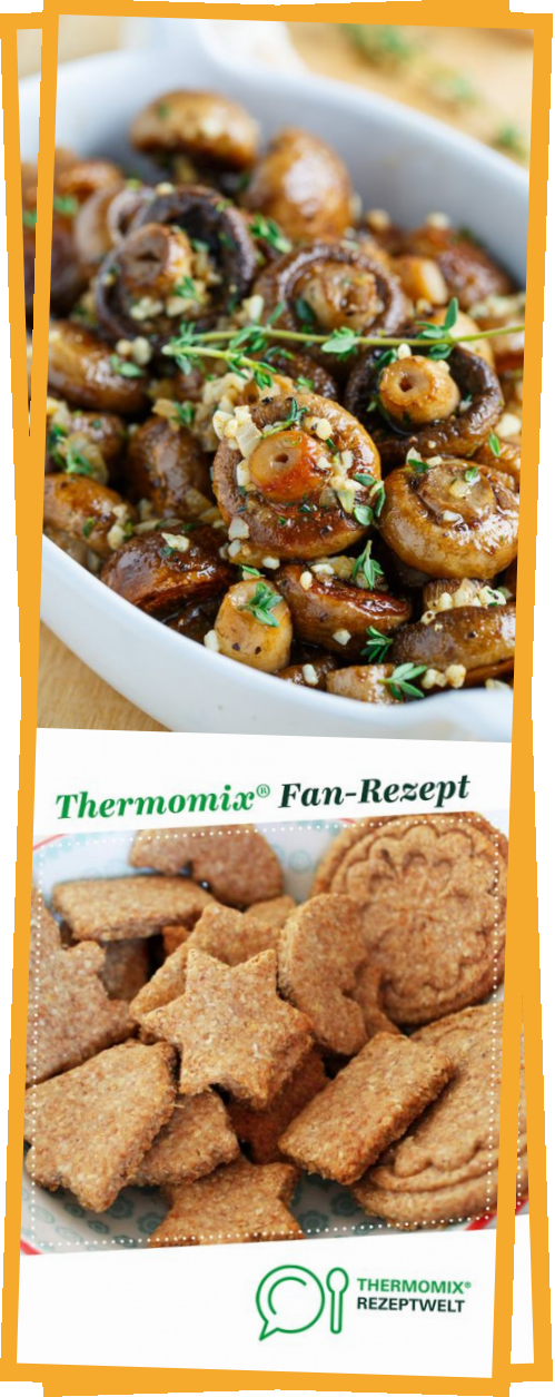 Roasted Mushrooms in a Browned Butter, Garlic and Thyme Sauce  #travelstyles #holidaysideas #holidaytips #christmasmeal aroundtheworldideas #christmasaroundtheworld #holidaysides #holidayvegetables #holidayideas #travelideas #christmasideas