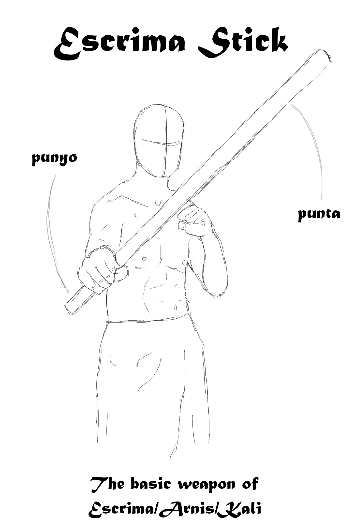The Escrima Stick A Basic And Versatile Weapon Used In