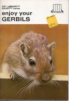 Enjoy Your Gerbils - The Pet Library - Vintage