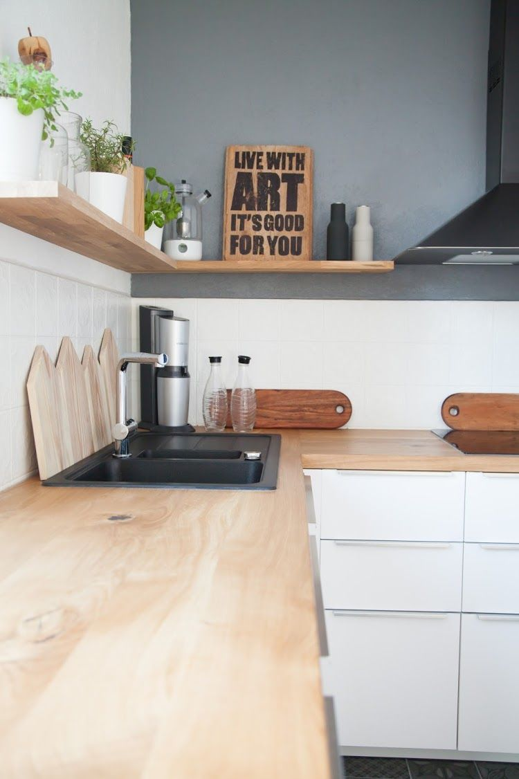 Vorher Nachher Die Kuche Unserer Traume Wohn Projekt Kuchen Regale Ideen Wohnung Kuche Kuchen Planung