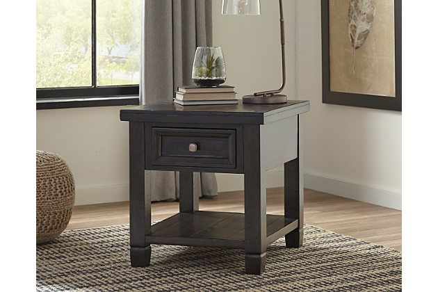 Townser End Table By Ashley Homestore Brown End Tables