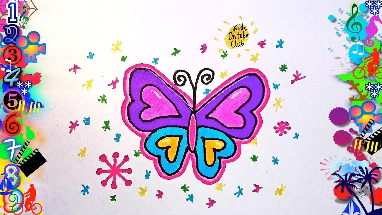 Dibujos Faciles Para Ninos Mariposa Dibujos Dibujo Facil Como Dibujar Mariposas Mariposas Faciles De Dibujar Dibujos Faciles Para Ninos
