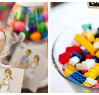 Hochzeitsdekoration für den Kindertisch: die buntesten Ideen