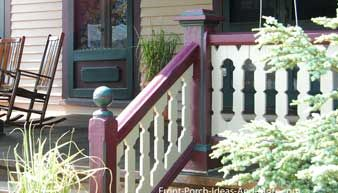 Best Modified Oval Sawn Baluster Railing Deck Railings Porch 640 x 480