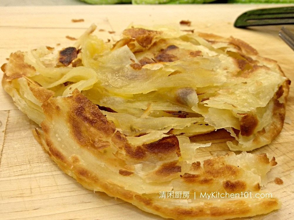 How To Make Crispy And Flaky Layered Paratha Roti Canai Flatbread Paratha Roti Recipe Roti