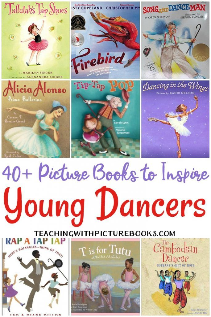 More Than 45 of The Best Picture Books for Young Dancers ...