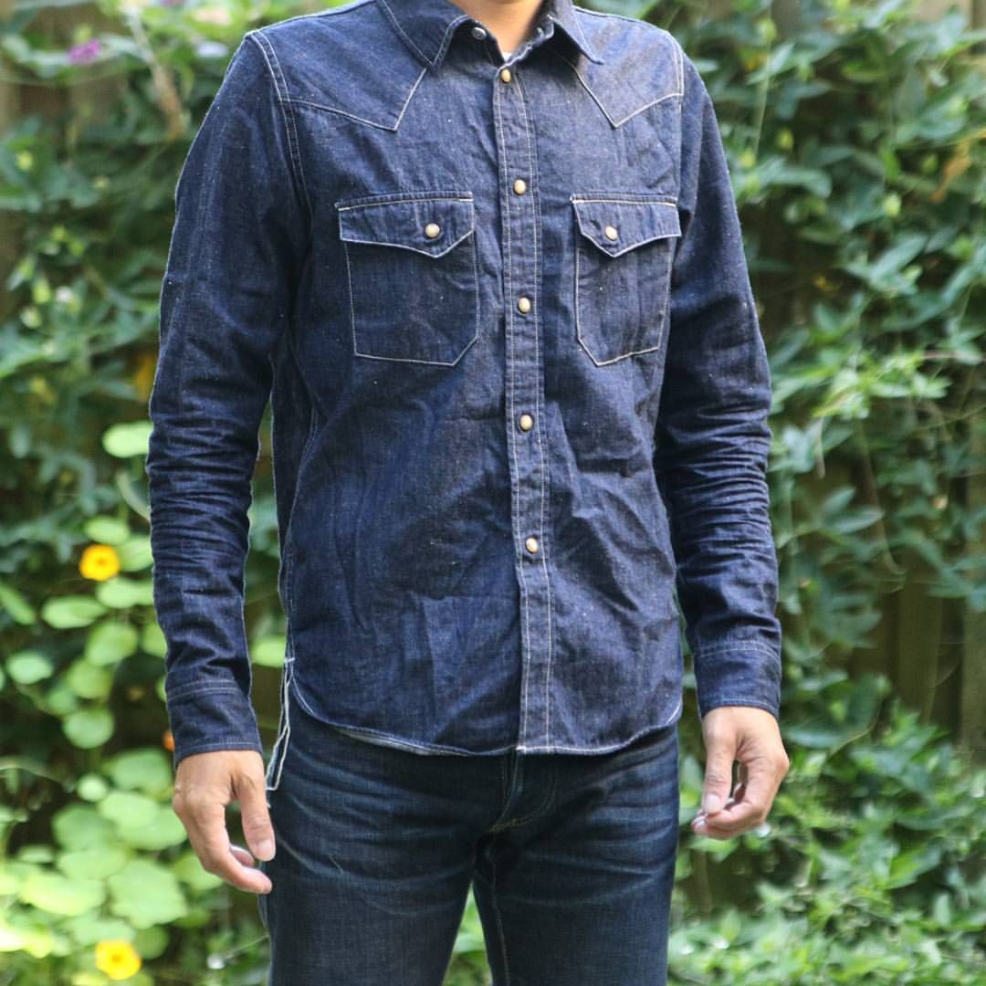Denim shirt cotton